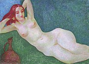 Academic Nudes Prints - Nu 13 Print by Leonid Petrushin