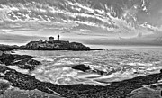 Sohier Park Framed Prints - Nubble Framed Print by Jay Arbelo