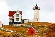 Amazing Jules - Nubble Lighthouse