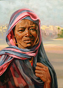 Ahmed Bayomi - Nubian Woman