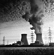 Factory Photos - Nuclear Power Plant by Dirk Ercken