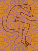 Nude 13 Print by Patrick J Murphy
