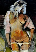 Undressing Paintings - Nude Art 2000 by Kostas Loustas