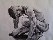 Nude II. Print by Paula Steffensen