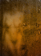 Voluptuous Prints - Nude On Old Wall Two Print by James Barnes