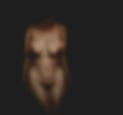 Nude Digital Art - Nude Out Of Focus Expanded by James Barnes