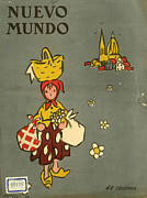 Featured Art - Nuevo Mundo 1919 1910s Spain Cc by The Advertising Archives