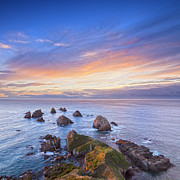 South Island Posters - Nugget Point Otago New Zealand Poster by Colin and Linda McKie