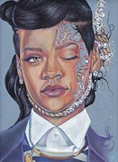 Rihanna Pastels - Numb Tragedy by Lance Rhodes