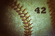 Mariano Rivera Prints - Number 42 Print by Bill Owen