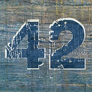 Number 42 Print by Michelle Calkins