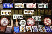 James Brunker - Numberplates