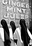 Kathleen K Parker Metal Prints - Nun of That Metal Print by Kathleen K Parker