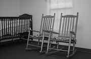 Rocking Chairs Photos - Nursery Room by Ester  Rogers