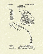 Bottle Drawings - Nursing Aid 1904 Patent Art by Prior Art Design