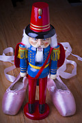 Ballet Art - Nutcracker and ballet shoes by Garry Gay