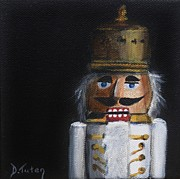 Nuts Paintings - Nutcracker I by Donna Tuten