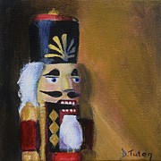 Nuts Paintings - Nutcracker II by Donna Tuten