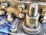 Jim Wright Art - Nuts and bolts by Jim Wright