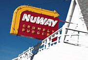 Pop Icon Photos - NuWAY Sign by Fred Lassmann