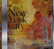 Ny City Collage - 6 Print by Corporate Art Task Force