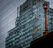 Old And New Prints - NY Reflections. Print by Jean Noren