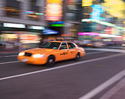 Howard Heywood Art - NY Taxi by Howard Heywood