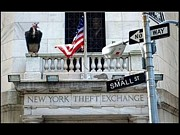 Stock Photo Digital Art - Ny Theft Exchange by Robert Stagemyer