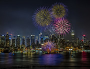 New York City Skyline Photos - NYC Celebrates Fleet Week by Susan Candelario