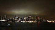 Nyc Skyline Print by Roque Rodriguez
