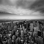 New York City Prints - NYC Uptown Print by Nina Papiorek