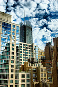 New York City Metal Prints - NYC Urban HDR Metal Print by Amy Cicconi