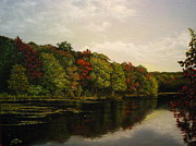 Dogwood Lake Prints - NYC Water Supply Print by Sean Taber