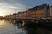 Alexander Galiano Art - Nyhavn Canal by Alexander Galiano