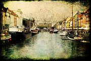 Joan Mccool Art - Nyhavn by Joan McCool