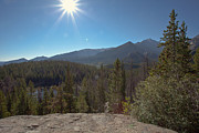 Sunflare Art - Nymph Lake and Longs Peak by Kay Pickens