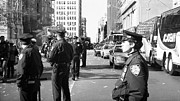 New York Cops Framed Prints - NYPD 1990s Framed Print by John Rizzuto