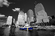 Nypd Photos - NYPD blue  by Rob Hawkins