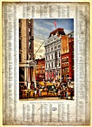 New York Stock Exchange Prints - Nyse 1882 Print by Benjamin Yeager