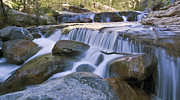 Oak Creek Photo Originals - Oak Creek Cascade by Paul Riedinger