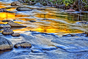 Western Western Art Photo Prints - Oak Creek Reflections Print by Robert Albrecht