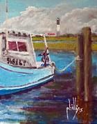 Jim Phillips - Oak Island Seen from...