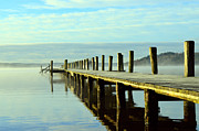 Love Photo Originals - Oak pier in sweden by Tommy Hammarsten