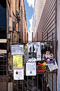 Flyers Art Posters - Oak Street Alley-New Orleans Poster by Kathleen K Parker