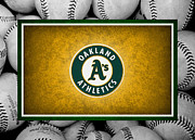 Outfield Prints - OAKLAND As Print by Joe Hamilton