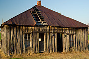Old Farm House Photos - OAlOld House Place Arkansas by Douglas Barnett