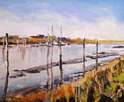 Paul Mitchell Art - Oare Creek 3 by Paul Mitchell