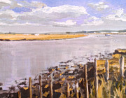 Paul Mitchell Art - Oare Creek 6 by Paul Mitchell