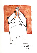 Drawing Mixed Media Originals - Oaths No.4 by Mark M  Mellon