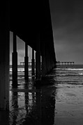 Beach Prints - OB Pier Print by Peter Tellone